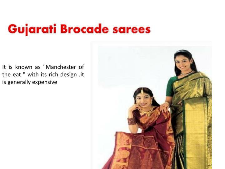 Gujarati Brocade sarees