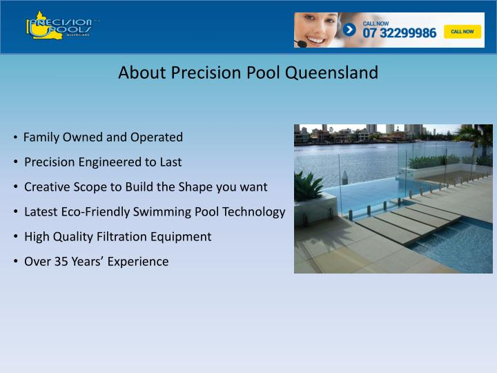 Ppt get expert brisbane swimming pool builders from for Pool builders queensland