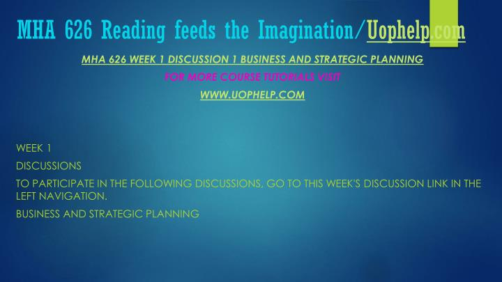 Mha 626 reading feeds the imagination uophelp com1