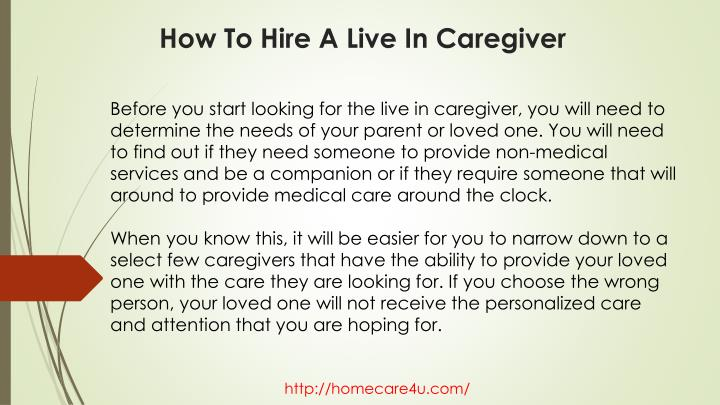 How to hire a live in caregiver2