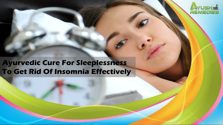 how to get rid of sleeplessness