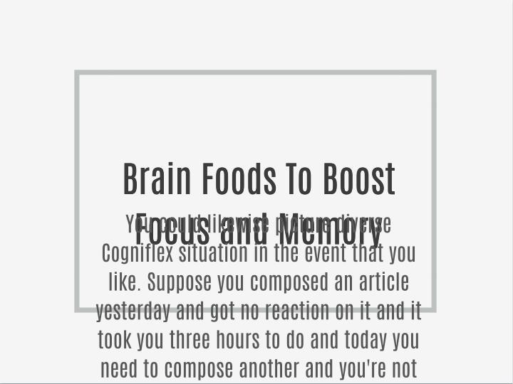 Natural remedies for increasing memory power photo 3