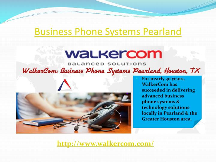 Business phone systems pearland