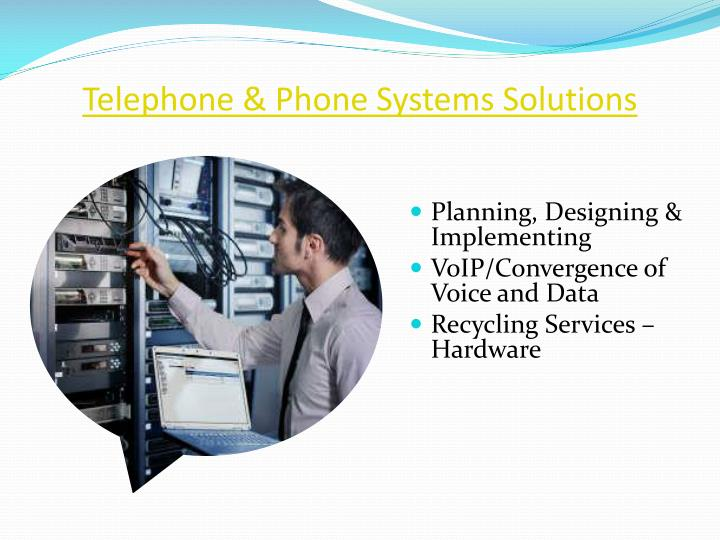 Telephone & Phone Systems Solutions