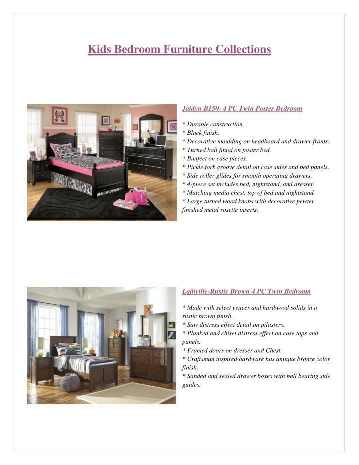 Ppt Stylish Kids Bedroom Furniture At Leon Furniture Store In Glendale Powerpoint Presentation