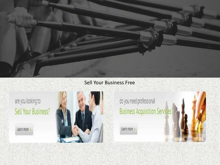 Sell Your Business Free