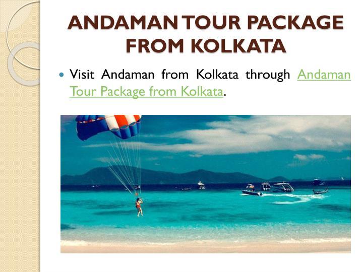 Andaman Nicobar Tour Package From Kolkata