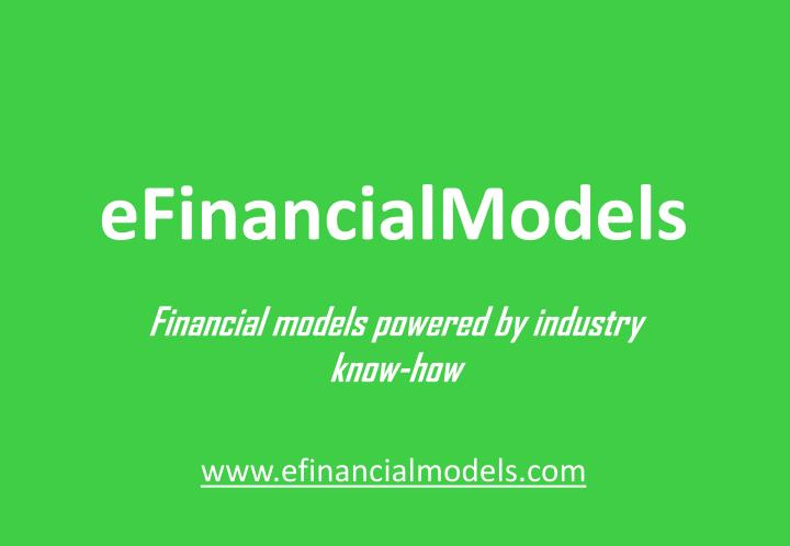 eFinancialModels
