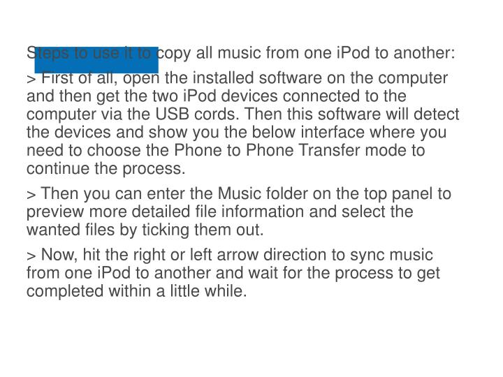how to get songs from ipod to itunes mac