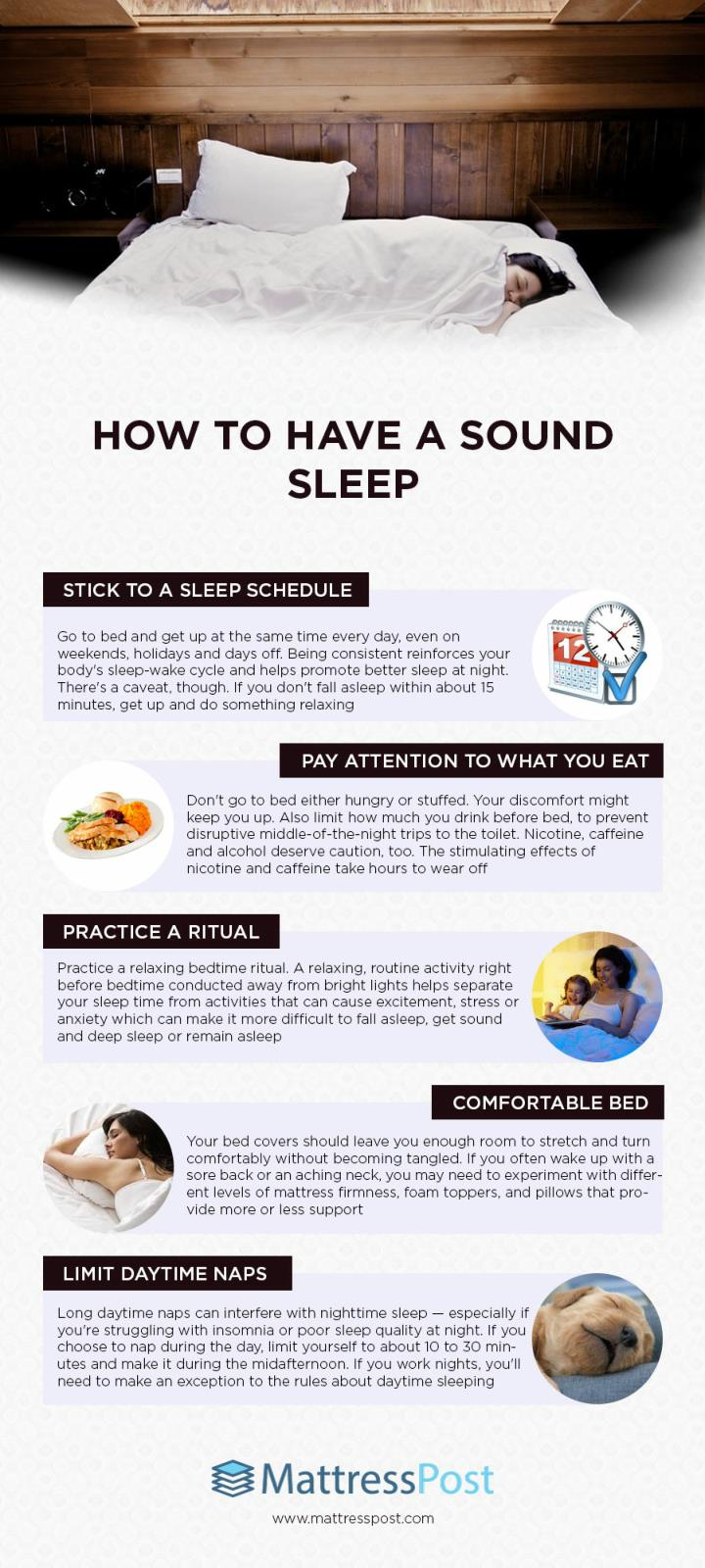 How to have a sound sleep