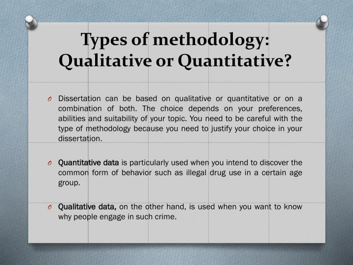 which is easier qualitative or quantitative dissertation