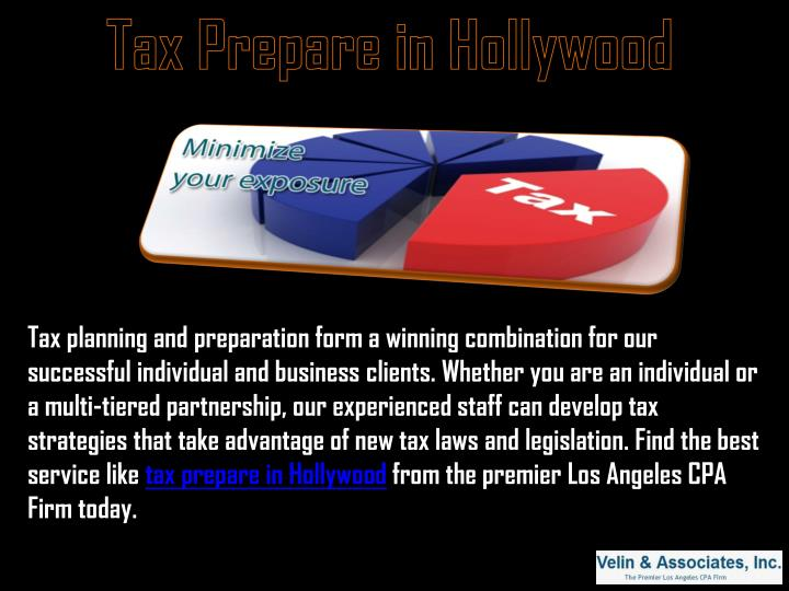 Tax Prepare in Hollywood