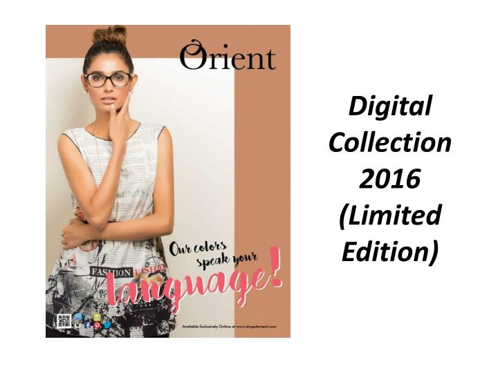 Digital Collection 2016 (Limited Edition