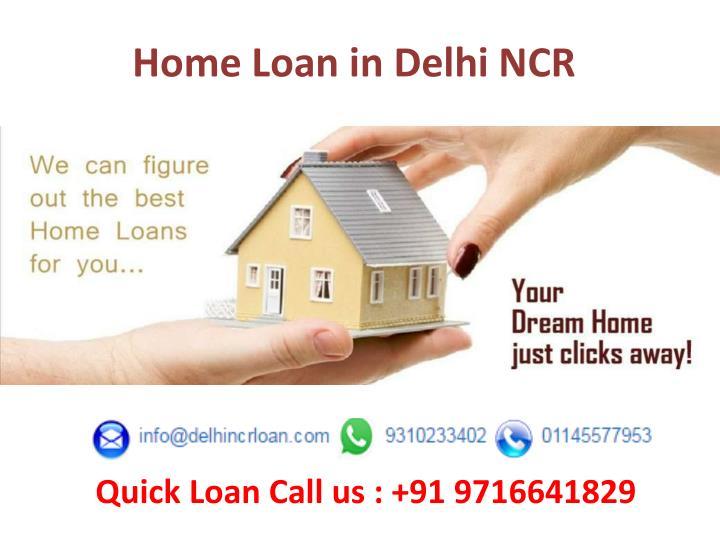 Home Loan in Delhi NCR