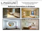 bathroom renovations gallery