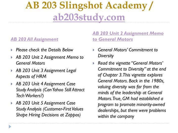 AB 203