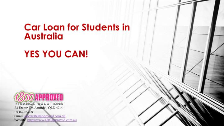 how to get a student loan in australia