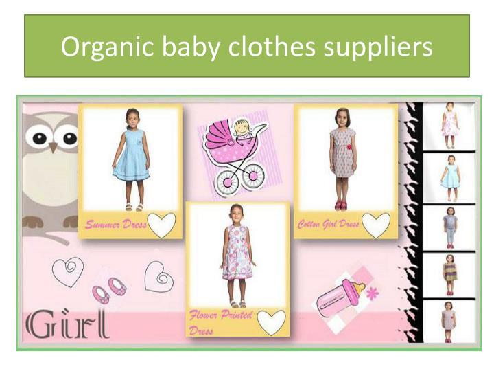 Organic Cotton Baby Clothes India