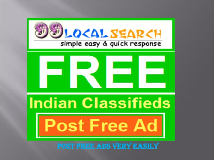 Post Free Ads Very Easily