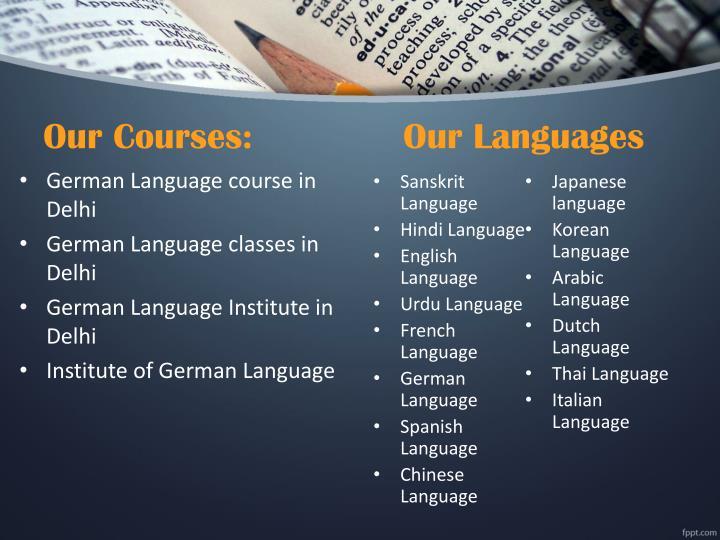 Top 7 French Language Courses in Delhi ... - Chandigarh Metro