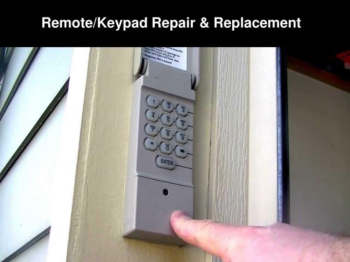 Ppt vancouver garage door repair replacement for Garage door keypad repair