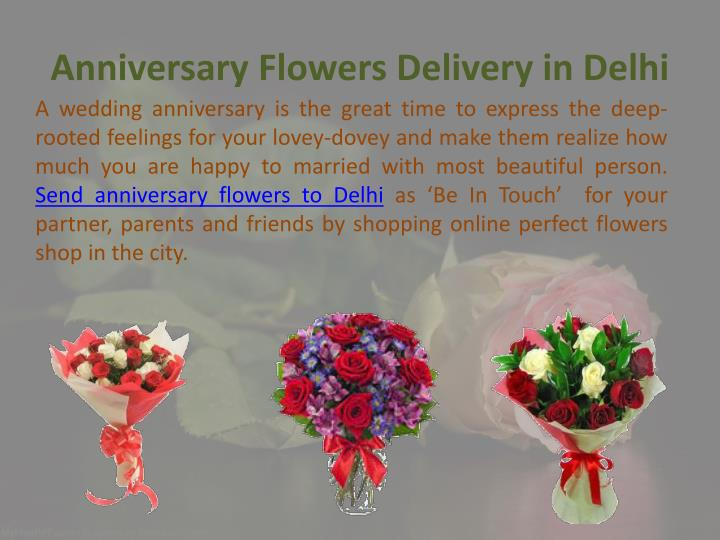 Wedding Gifts Delivery In Delhi : Anniversary Flowers Delivery in Delhi