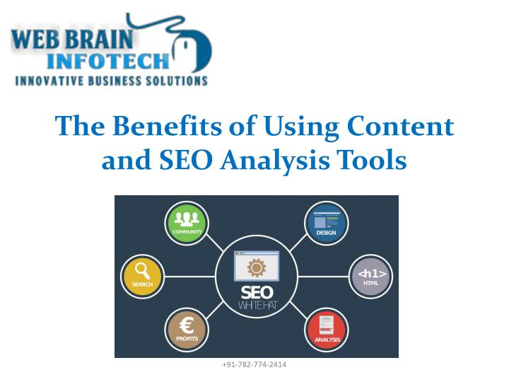 The benefits of using content and seo analysis tools