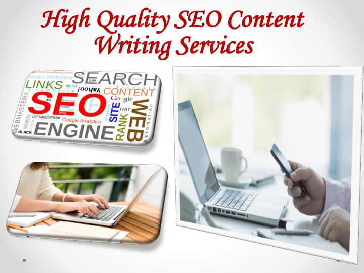Content writing services seo
