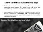learn card tricks with mobile apps