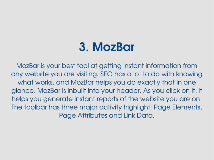 3.MozBar