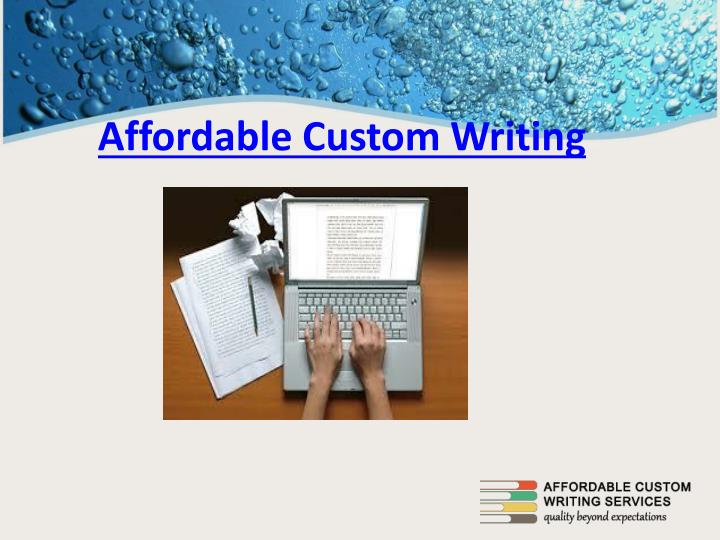 Custom writing papers com