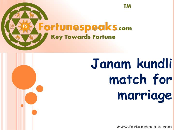 online kundali match making for marriage
