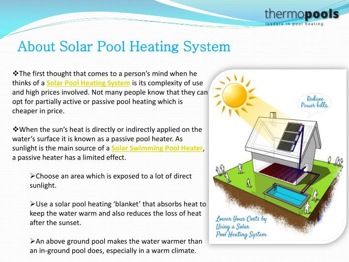 Ppt Swimming Pool Heating Facts Choose Pool Heating System Wisely Powerpoint Presentation