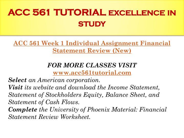 Acc 561 new week 4 wileyplus