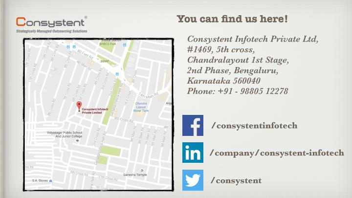 You can find us here!
