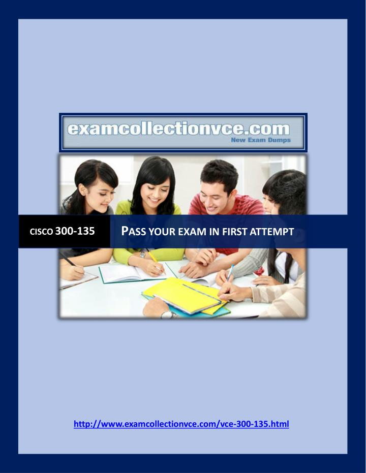 Examcollection 300 135 questions answers
