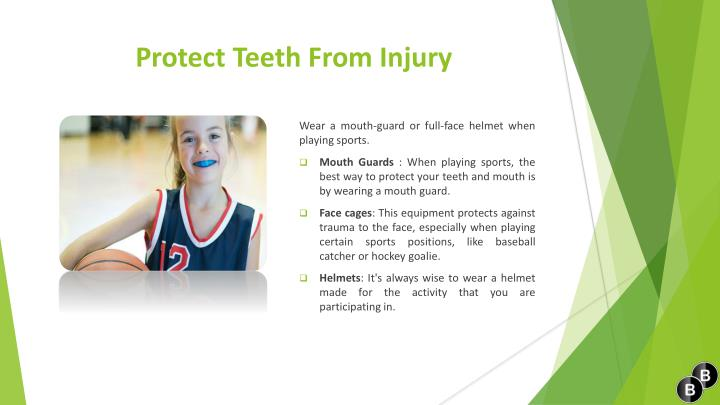 Protect Teeth From Injury