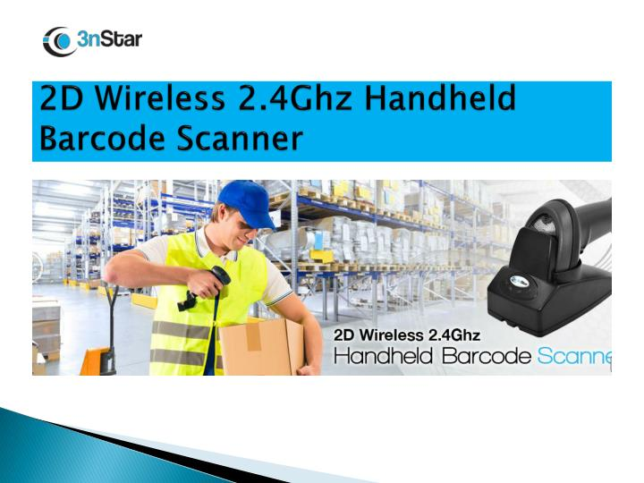 2D Wireless 2.4Ghz Handheld Barcode Scanner