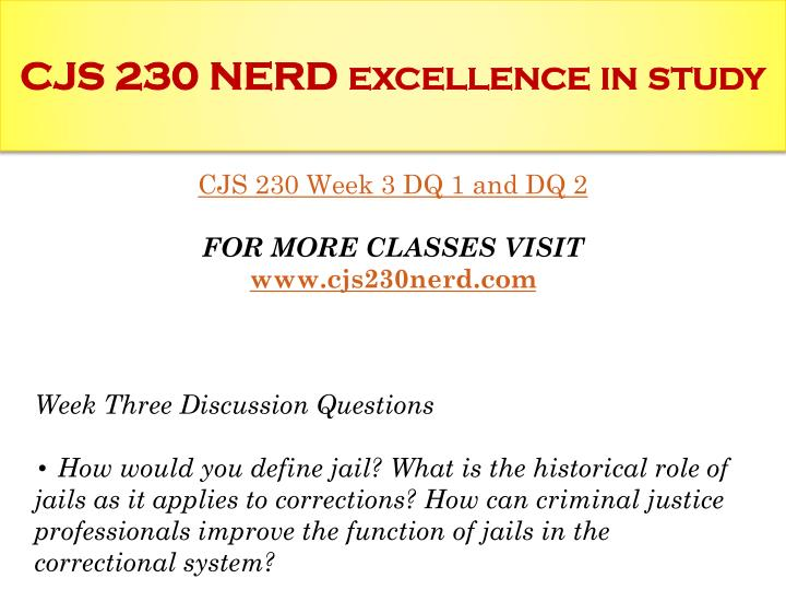 cjs 200 jails and prisons checkpoint Cjs 230 week5individual assignment,cjs 230 week5,uop uop cjs 230 week 5 checkpoint sociological aspect of prison life write a 200- to 300-word response.