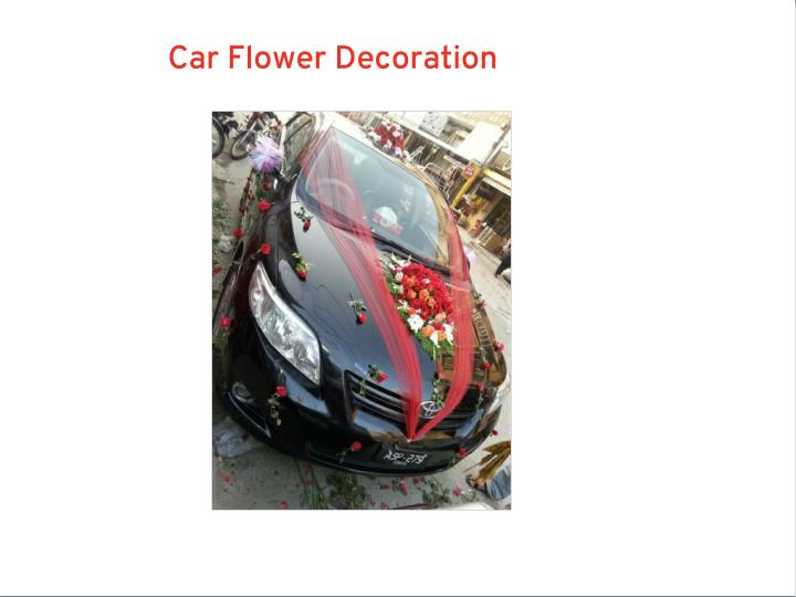 Car Flower Decoration