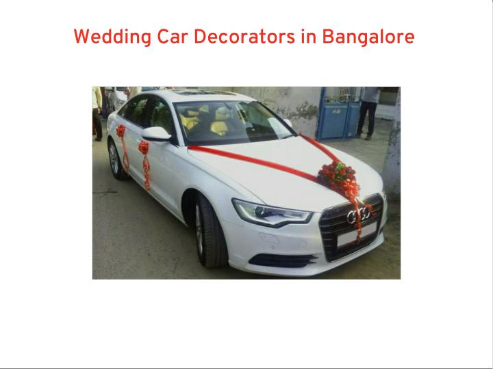 Wedding Car Decorators in Bangalore