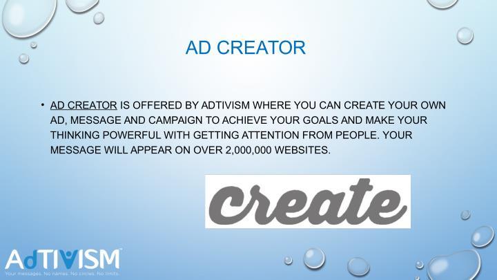 AD CREATOR