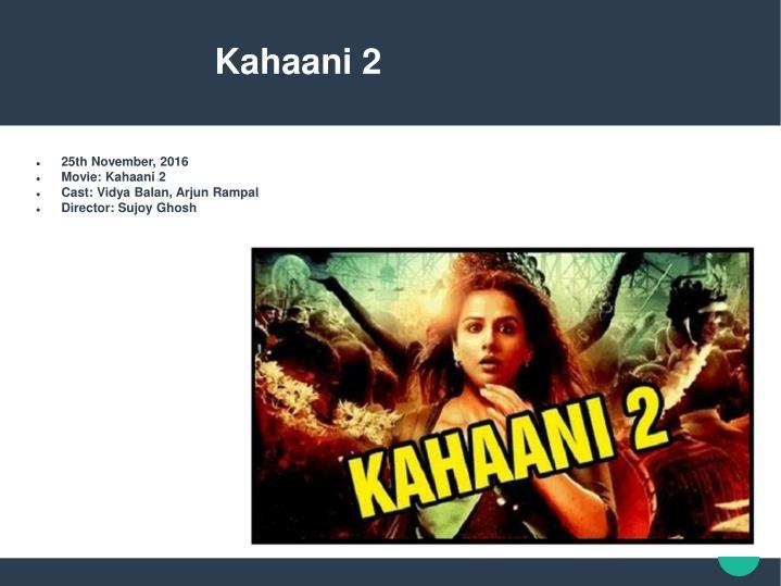 Kahaani 2