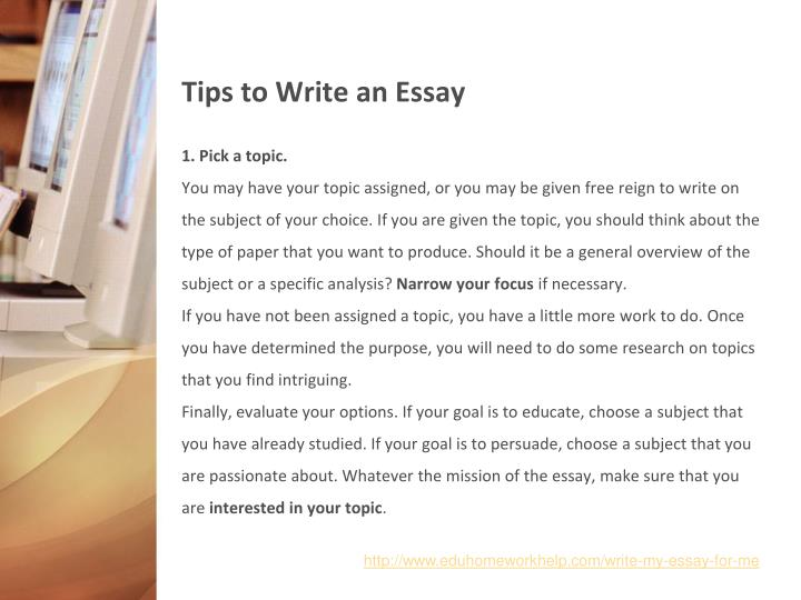 essay writing tip sheet To succeed, at high school and in tertiary study you must master essay writing grab a large sheet of blank a3 paper and some search essay tips recent.