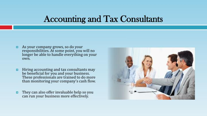 PPT - Using Tax Consultancy Services for Your Business ...
