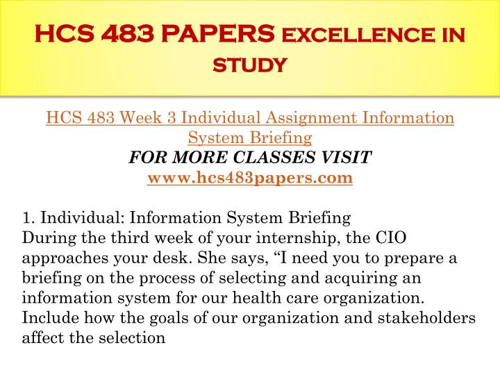 hcs 483 week 4 it project implementation failures Description hcs 483 week 4 it project implementation failures hcs 483 week 4 it project implementation failures resource: ch 6 of essentials of health information systems and technology.