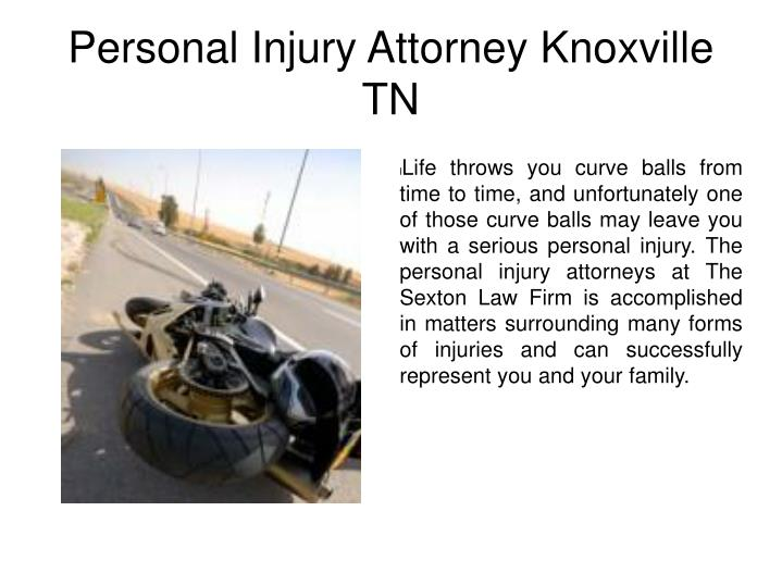 Tennessee Personal Injury Attorney