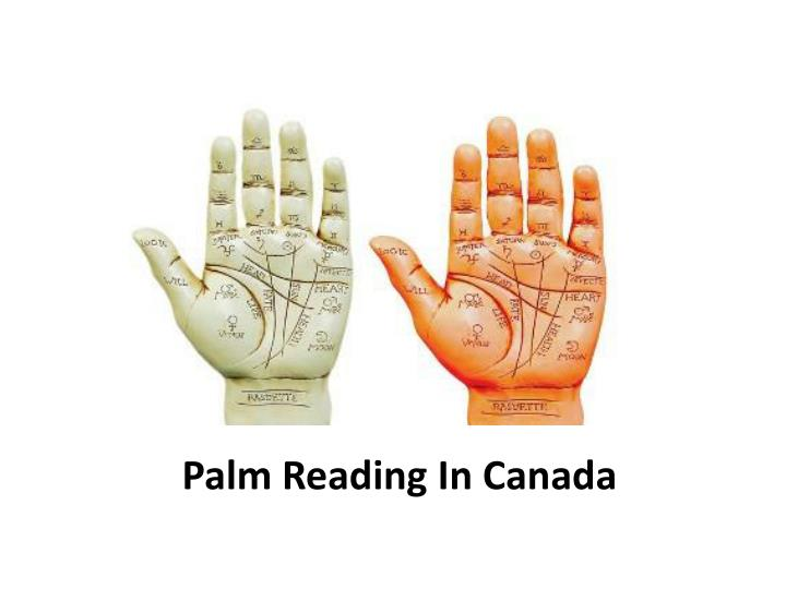 Palm Reading In Canada