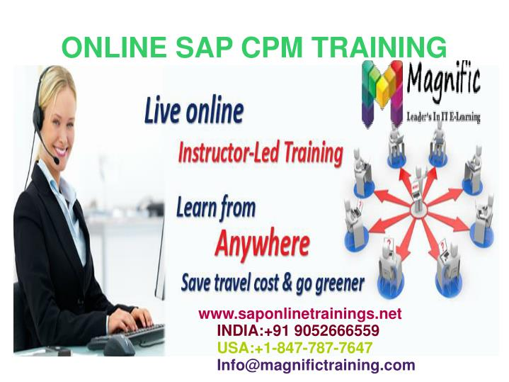 Ppt Sap Cpm Online Training In Malaysia Powerpoint