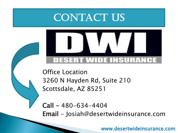 Brilliant PPT  Arizona Car Insurance  Desert Wide Insurance